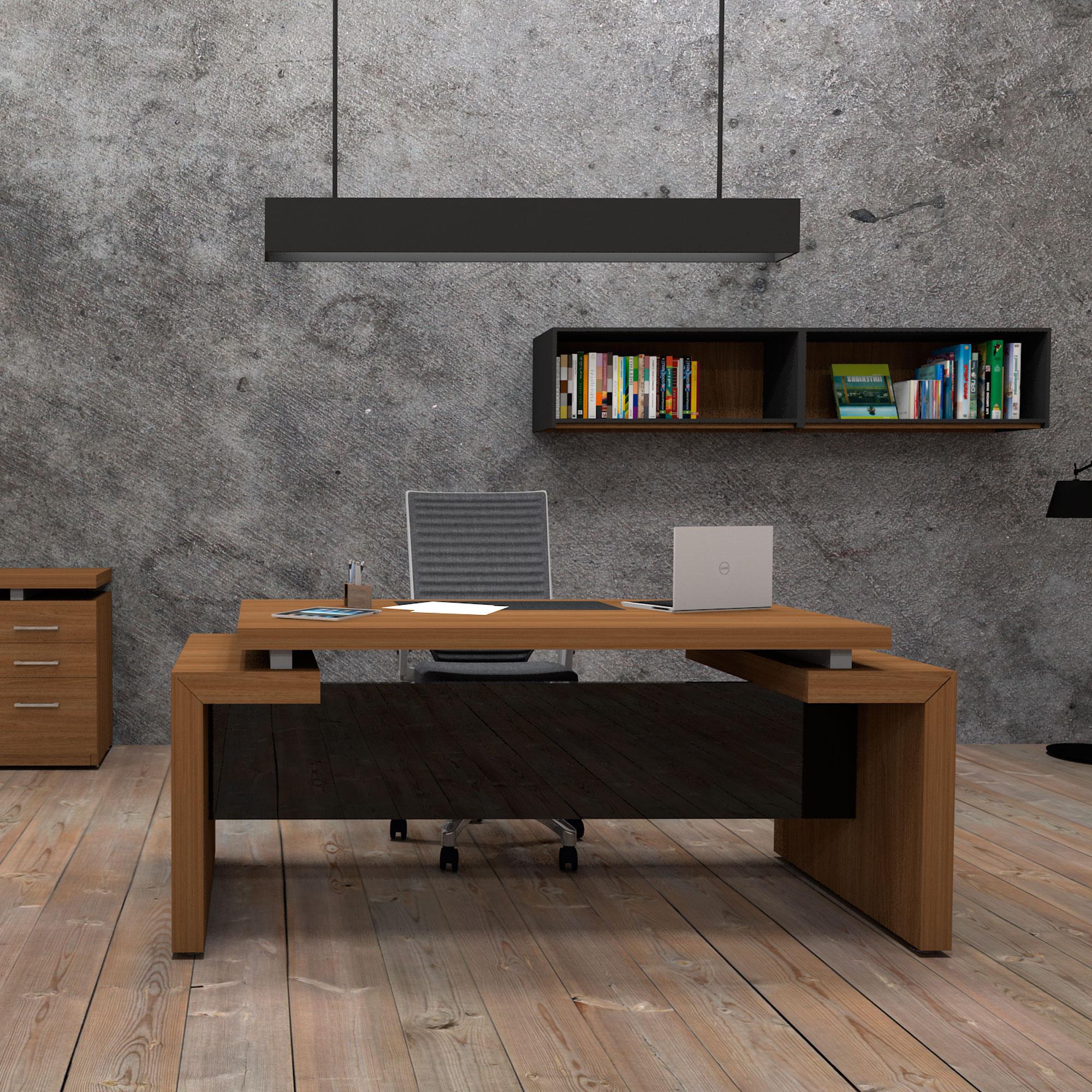 Zamofi muebles para oficina for Muebles de oficina wengue